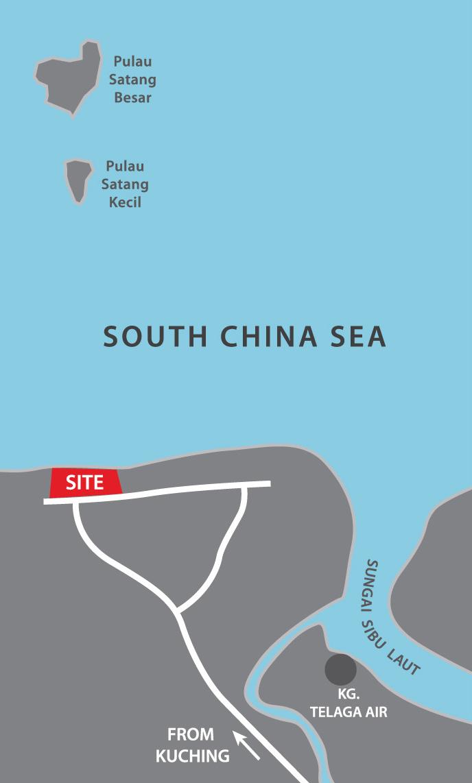 Golden Beach Locality Plan