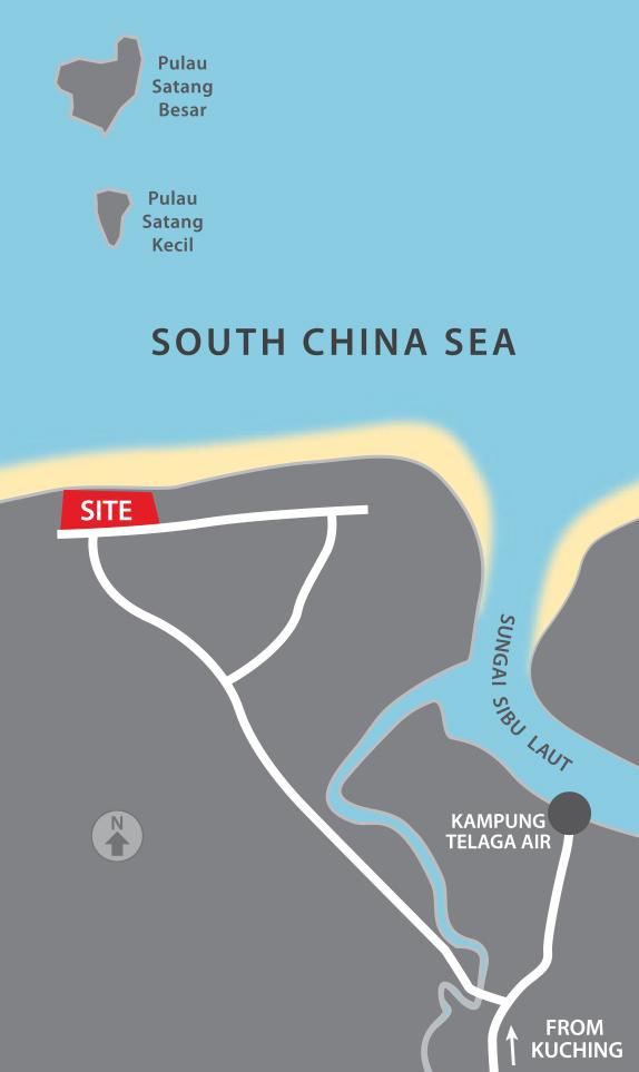 Golden Beach 2 Locality Plan