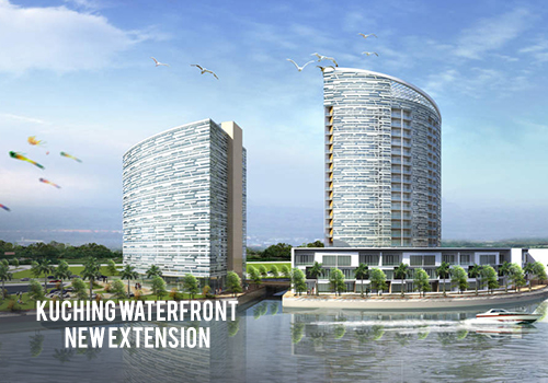 Kuching Waterfront New Extension