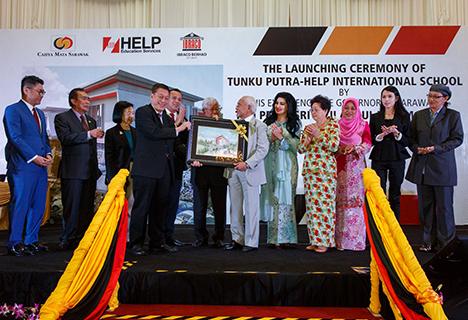 Launching Ceremony of Tunku Putra-HELP International School