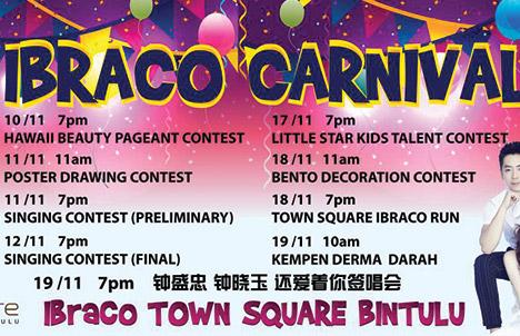 Bintulu Town Square: Ibraco Carnival   2017